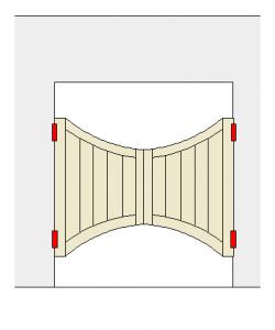 bat-wing-door